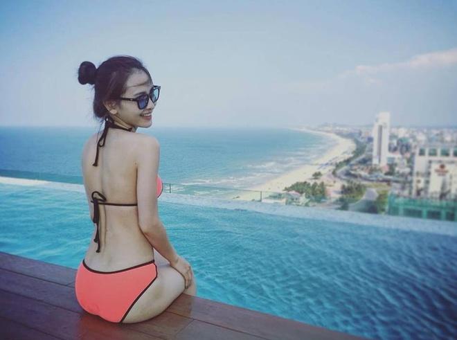 Hot girl Viet khoe dang chao he cung bikini hinh anh 7