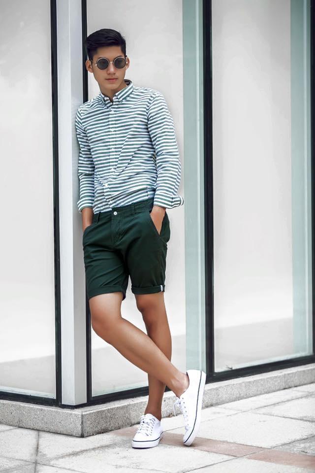 Hot boy Ha Noi dien trai, cao 1,83 m noi tieng mang hinh anh 2