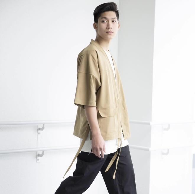 Hot boy Ha Noi dien trai, cao 1,83 m noi tieng mang hinh anh 1