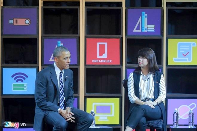 Ba ban tre Viet tro chuyen voi Tong thong Obama la ai? hinh anh 2