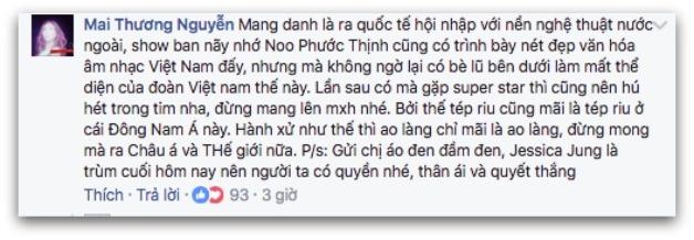Chau Bui, Sun HT khien fan Han day song vi che Jessica chanh hinh anh 6