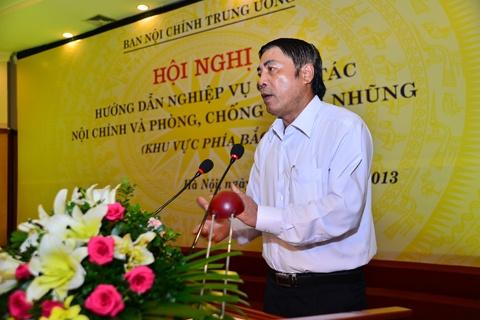 Ban Noi Chinh Trung Uong Huong Dan Chong Tham Nhung Hinh Anh 1. Trưởng Ban Nội  Chính ...