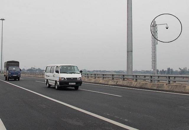56 camera giam sat tuyen Cau Gie - Ninh Binh dai 50km hinh anh