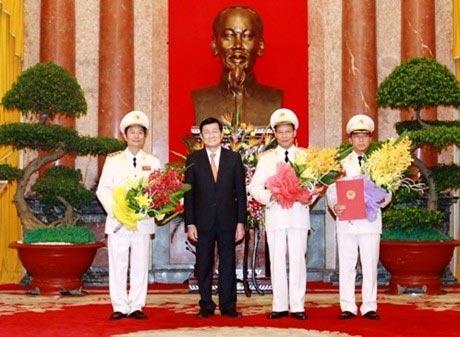 Phong ham Thuong tuong cho Thu truong Bo Cong an hinh anh