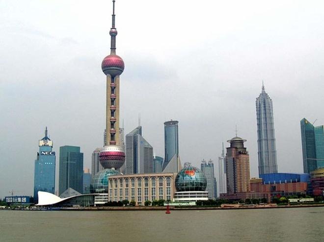 10 thap truyen hinh cao nhat the gioi hinh anh 5 Tháp Minh châu phương Đông, Thượng Hải, Trung Quốc cao 468m, khánh thành năm 1994 - Ảnh: china-tour.cn.