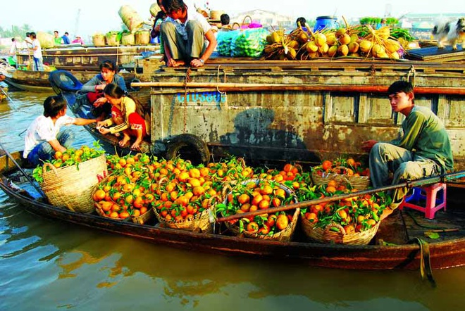 Cho Cai Rang thuoc Top 6 khu cho noi nhon nhip nhat the gioi hinh anh 1