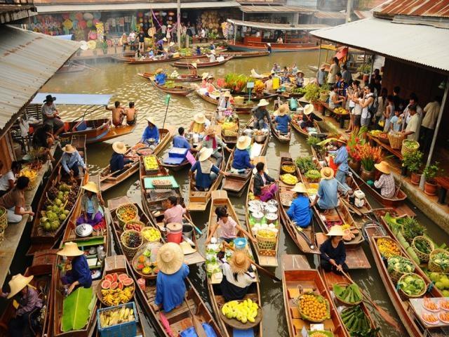 Cho Cai Rang thuoc Top 6 khu cho noi nhon nhip nhat the gioi hinh anh 5