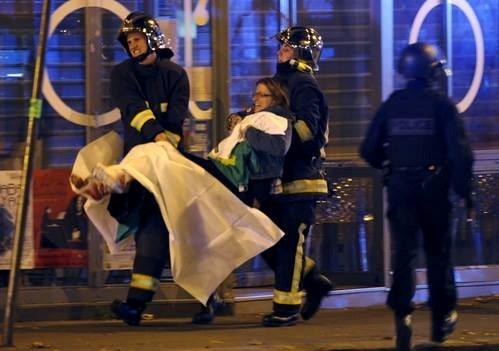 Khung bo o Paris: du khach Viet an toan, DN lo lang hinh anh