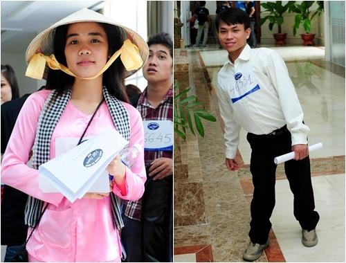 Xuat hien thi sinh Vietnam Idol giong Phuong My Chi hinh anh