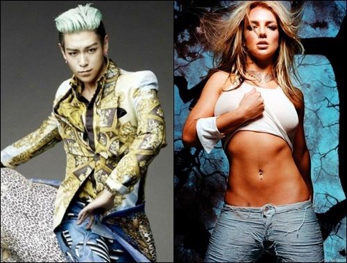 TOP (Big Bang), Britney - nghe si goi cam nhat 2013 hinh anh