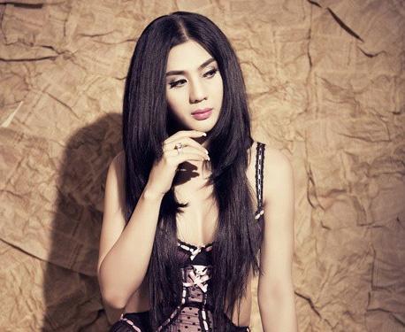 Lam Chi Khanh: 'Moi nguoi bao sao toi khong thi hoa hau' hinh anh