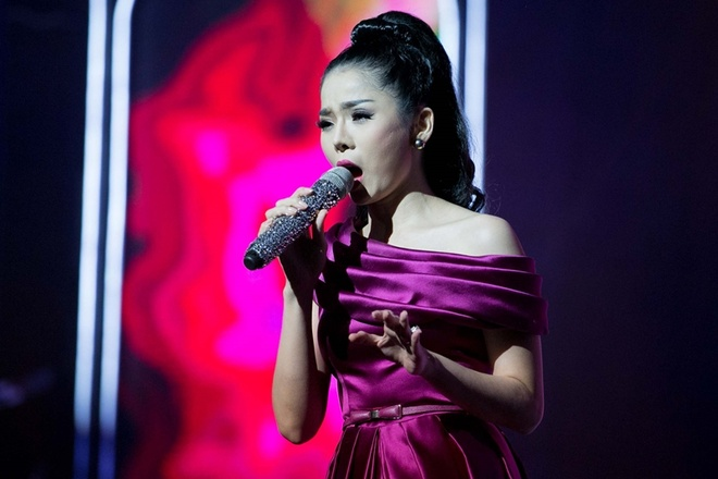 Le Quyen 'len dong' khi lan dau hat a dao hinh anh 3