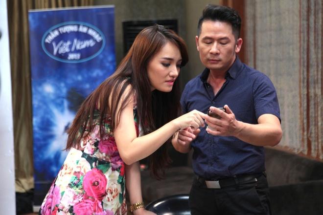 Bang Kieu het loi khen ngoi Nhat Thuy truoc chung ket Idol hinh anh
