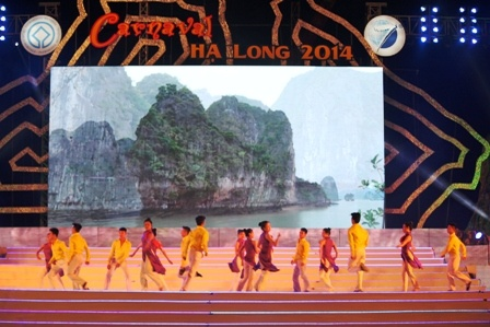 Ho Quynh Huong mat tich trong Carnaval Ha Long hinh anh