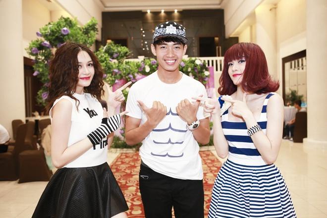 Minh Hang goi cam tham gia Gala nhac Viet hinh anh 15 Nhóm Bee.T và Quang Đăng.