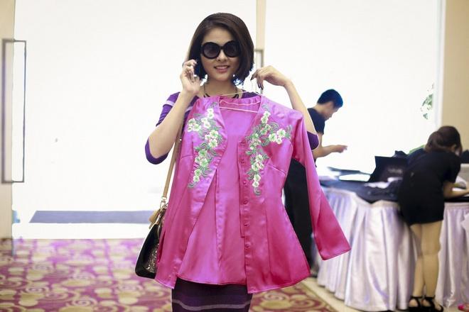 Minh Hang goi cam tham gia Gala nhac Viet hinh anh 10 Vân Trang sẽ hóa thân thành một cô gái miền Tây duyên dáng với áo bà ba.