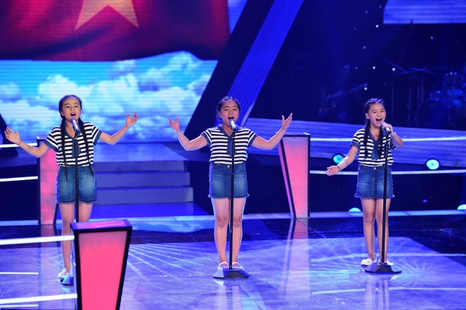 The Voice Kids bung no voi giong khung cua ba co be hinh anh