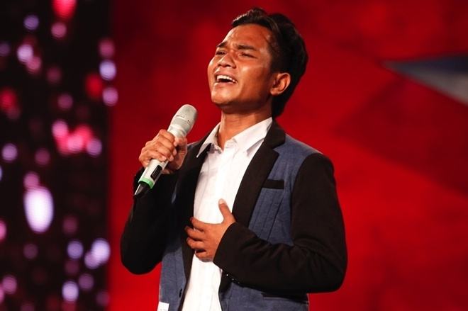 Ban sao Tuan Hung gay sot tren san khau Got Talent hinh anh