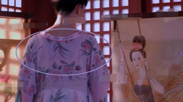 Nhat san phim ve Vo Tac Thien cua Pham Bang Bang hinh anh 4 Khán giả  thắc mắc tại sao phụ nữ đời Đường đã diện kiểu áo lót hiện đại này?