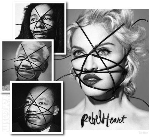 """Madonna mat quyen luc trong thoi mang xa hoi hinh anh 1 Madonna và những bức ảnh khiến chị bị dư luận """"ném đá"""" đến nỗi phải xin lỗi."""