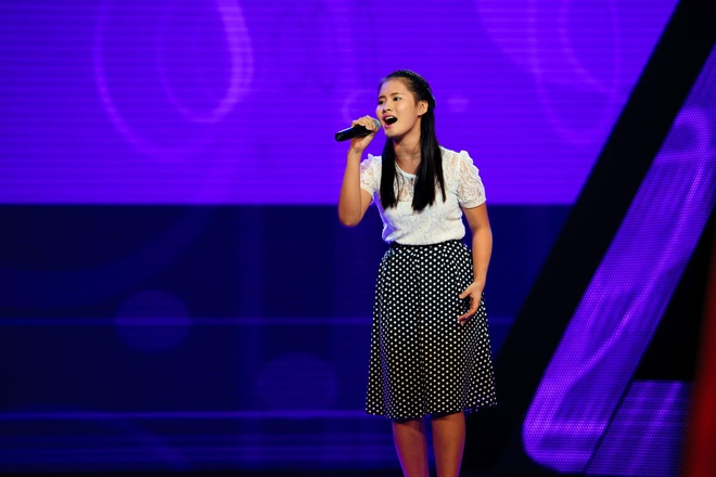 Ho Quynh Huong khen ngoi co be Voice Kids ban keo keo hinh anh
