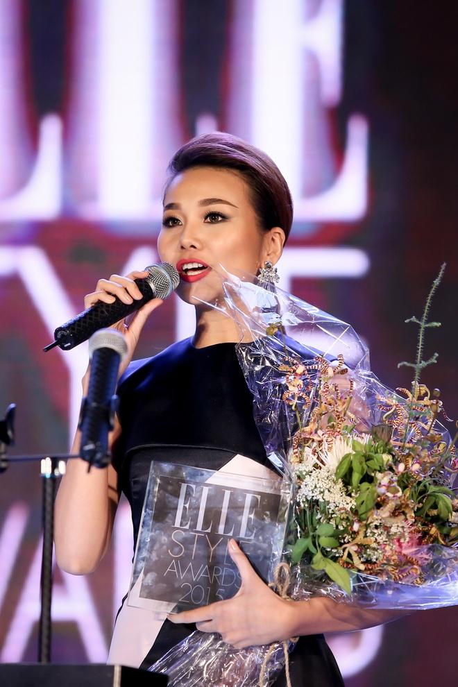 Nữ diễn viên phong cách nhất của năm thuộc về Thanh Hằng.