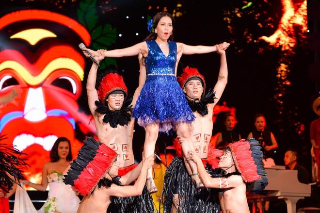Cam Ly - Dan Truong roi nuoc mat voi 'Lan va Diep' hinh anh 3 Cẩm Ly thể hiện vũ đạo trong mảng nhạc trẻ.