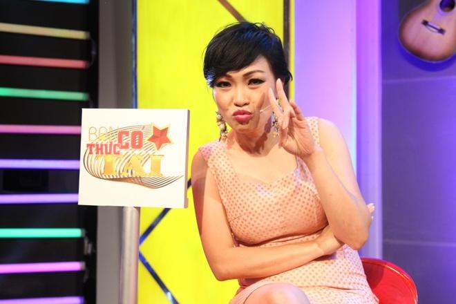 Phuong Thanh 'da xoay' Le Hoang tren ghe nong hinh anh