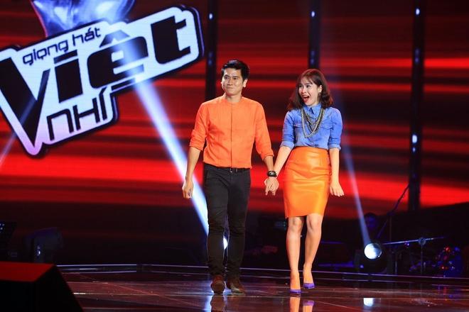 Cap doi 'Giang - Ho' bat ngo tro lai The Voice Kids hinh anh 1