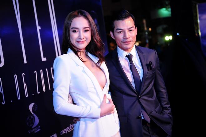 Angela Phuong Trinh rang ro tren tham do ra mat phim hinh anh