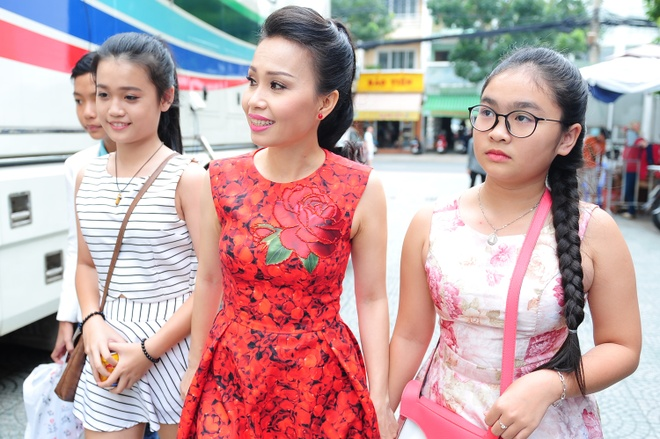 Thien Nhan, Quang Anh mac sanh dieu xem ghi hinh hinh anh