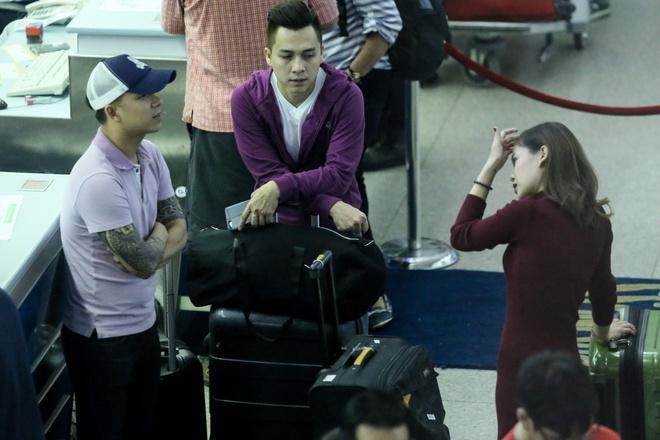 Le Hoang (The Men) bay show khi ban gai vua sinh con hinh anh 7 s