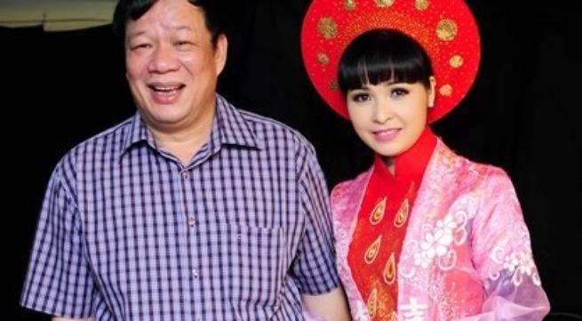 'Ca si nha tram ty' va 6 lan to chuc dam cuoi hut voi chong hinh anh 2 Vợ chồng Trang Nhung và doanh nhân Ngô Nhật Phương.