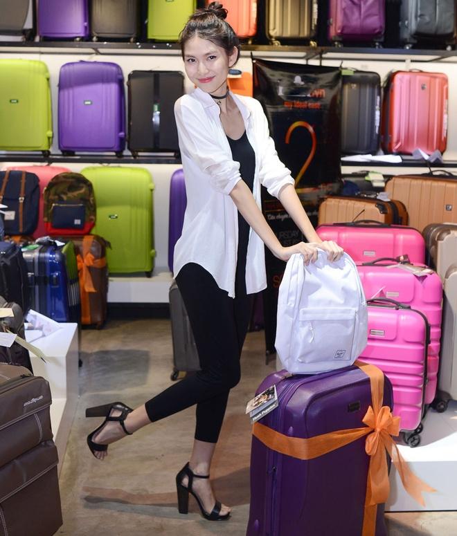 Người mẫu Thùy Dương - thí sinh Next Top Model mùa 2.