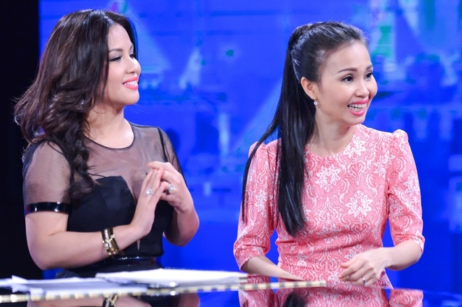 Minh Tuyet ve nuoc lam co van cho Cam Ly o The Voice Kids hinh anh