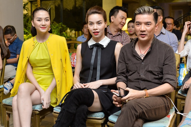 Ho Ngoc Ha, Thieu Bao Trang noi bat o su kien hinh anh