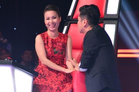 Chuyen hau truong khong len song cua The Voice Kids hinh anh
