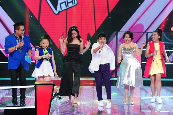 Be 9 tuoi chinh phuc ca khuc kho cua Trinh Cong Son hinh anh 3 Các huấn luyện viên đề nghị được học điệu nhảy