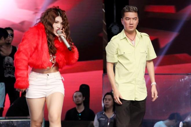 Fan gian khi Vicky Nhung nhuong diem cho To Ny hinh anh 3 Tố Ny và Mr. Đàm