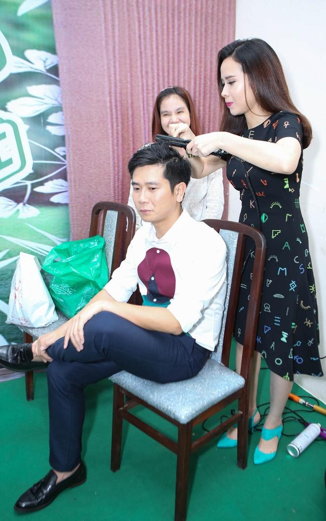 Quang Anh mac sanh dieu di xem The Voice Kids hinh anh 5