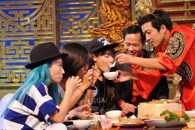 Nha Phuong mang Truong Giang vi khong duoc an hinh anh