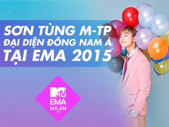 Son Tung M-TP chien thang vong DNA tai MTV EMA 2015 hinh anh