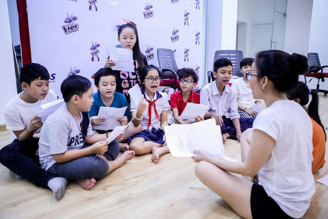 My Tam, Thu Minh hat cung thi sinh The Voice Kids hinh anh 3