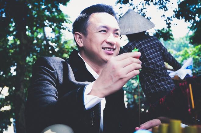 VTV co MC nam mien Nam dau tien hinh anh 2 BTV Việt Phong giữa đời thường.
