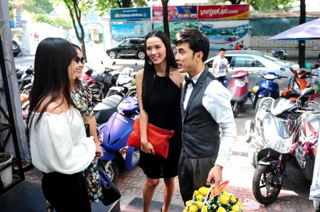 Ung Hoang Phuc cham soc vo mang bau 4 thang o su kien hinh anh 3