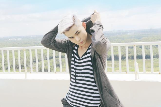 Jun Pham (365) bi lam tuong gap tai nan khi quay MV moi hinh anh 1