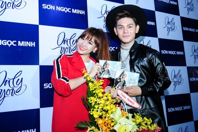 Hari Won noi xau Son Ngoc Minh hinh anh 3 s
