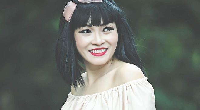 Phuong Thanh hat nhu co gai tre moi biet yeu hinh anh