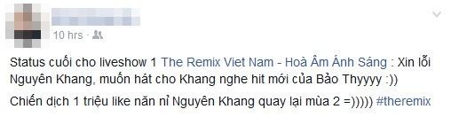 MC Thanh Trung bi che ngay lan dau dan The Remix hinh anh 2