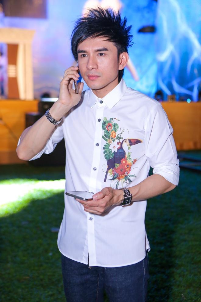 Hoai Lam tap luyen giua troi nang cung Dan Truong hinh anh 8